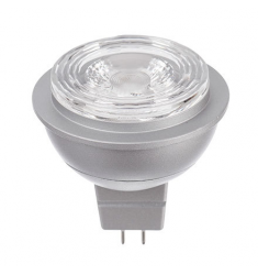 Bec LED General Electric Energy Smart™ spot MR16, 7W, 12V, GU5.3, 25.000 ore, lumina calda, dimabil
