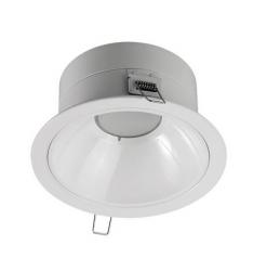 Corp de iluminat interior GE spot incastrat LED, ø173cm, 12W, 40.000 ore, lumina calda