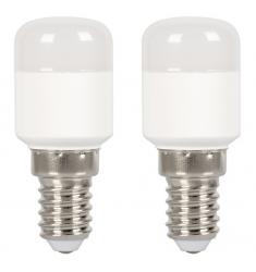 Blister 2 bucăţi bec LED General Electric frigider, 1.6W, E14, 150 lm, 15.000 ore, lumină rece
