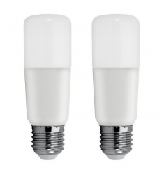 Set 2 Becuri LED General Electric Stik™, 12W, E27, 1060 lm, 15.000 ore, lumină caldă