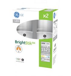 Set 2 Becuri LED General Electric Stik™, 16W, E27, 1521 lm, 15.000 ore, lumină rece